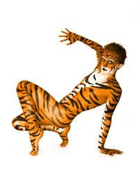 Tiger by enigmafreek