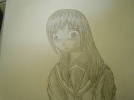 Crying Girl by snowFallSamurai