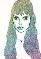 Girl Sketch 01 by Stardust-Splendor