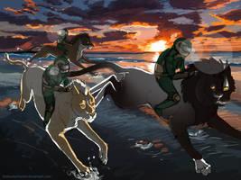 Free will junior race  - Growl-Tiger's Shedus by TheKunterbunter