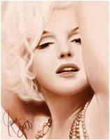Marilyn Monroe by JesseJentzen