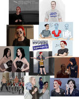 mass effect+community by bluewickedbehemoth