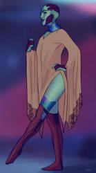 drelllady doodle by bluewickedbehemoth