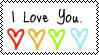 I Love You by LaurenEatsChildren