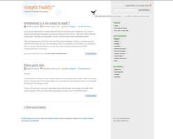 Wordpress Theme Simple version by lastDoorSolutions