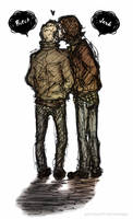 Sam and Dean - Bitch and Jerk by fromthatedge