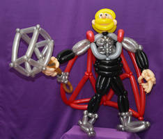 Balloon Thor by DJdrummer