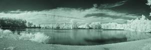Waterford Pond Panarama (IR) by RuralCrossroads360