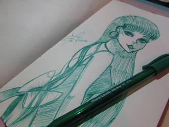 Pen Challenge 2- Ink Drips by Princess-Kawaii-Kari