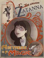 The Amazing Zatanna by DaveBardin