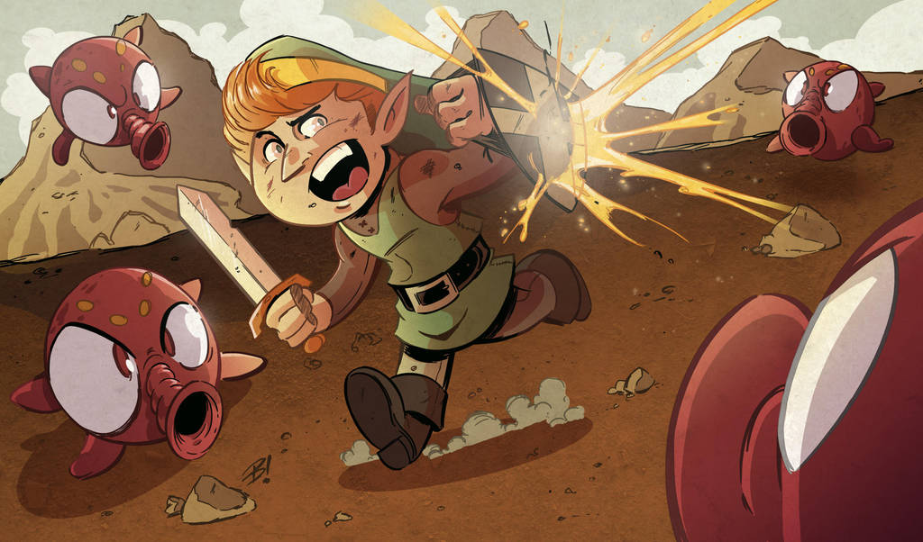 The Legend of Zelda by DaveBardin