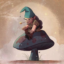 Gnome Away From Home by DaveBardin