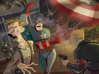 Captain America by DaveBardin