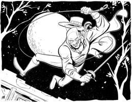 Zorro by DaveBardin