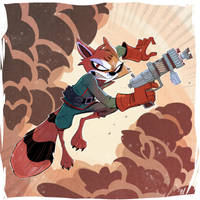 Rocket Raccoon by DaveBardin