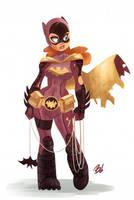 Battle Worn Batgirl by DaveBardin