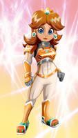 Daisy in armor by Riadorana