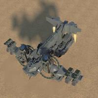 LC-VTOL Craft. by MrJumpManV4