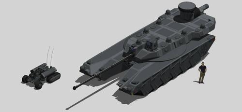 Caracal UGV variant by MrJumpManV4