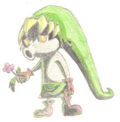 Deku Link by ChaosEmeraldHunter