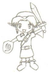 Chibi Link by ChaosEmeraldHunter