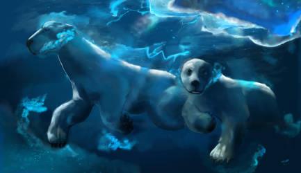 I Is For Polar Bear by YETI000