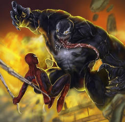 Venom and Spiderman Video by YETI000