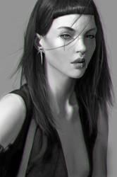 Kate Bogucharskaia Painting by YETI000