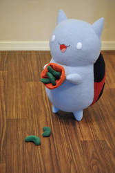 Sugar Peas - Catbug Plush - Bravest Warriors by hiyoko-chan