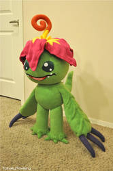 Palmon Plush - Digimon Adventures by hiyoko-chan