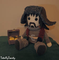 Bofur Plushie - The Hobbit by hiyoko-chan
