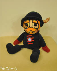 Hatchworth Plush - Steam Powered Giraffe by hiyoko-chan