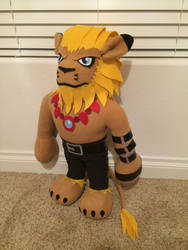 Leomon Plush - Digimon Adventures by hiyoko-chan