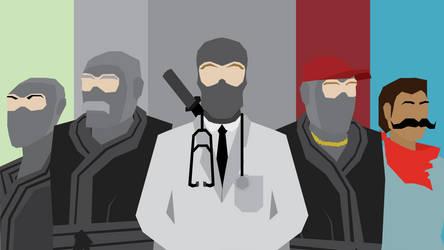 Doctor Mcninja Team by sircinnamon