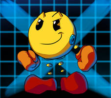 PAC-MAN X by JamoART