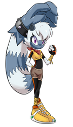 TIDES OF CHAOS: Tangle The Lemur by JamoART