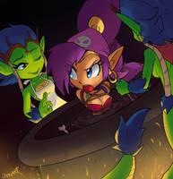Shantae Half-flavored soup by JamoART