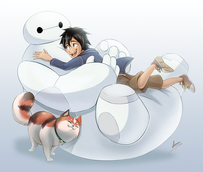 FF: Hiro and Baymax (BH6) by Seyumei