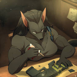 Com: Mercenary at Work by Seyumei