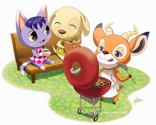 FF: Pocket Camp by Seyumei
