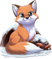 Com: Winter Fox by Seyumei
