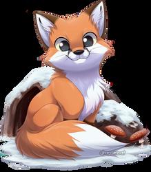 Com: Winter Fox by Seyumei