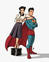 Lois and Clark by johnblackofficial