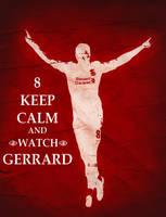 Steven Gerrard Poster by Jude20