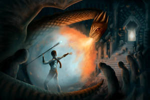 Dragonfight by JNLN