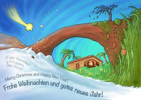 Christmas Greetings by JNLN