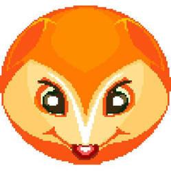 A Orange Fox by TheLonelySpringtrap