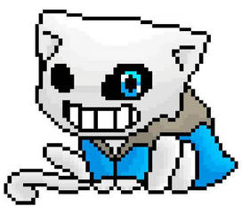 Sans The Cat by TheLonelySpringtrap