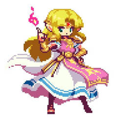 Princess Zelda (A Link To The Past) by TheLonelySpringtrap
