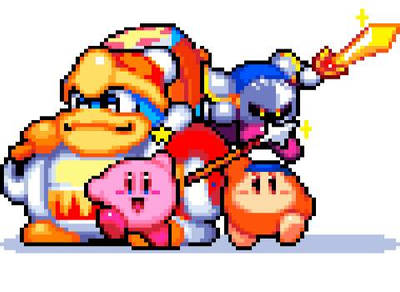 Kirby And Friends by TheLonelySpringtrap